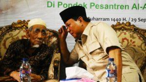 Prabowo akan Kunjungi Para Tokoh Agama di Masa Tenang