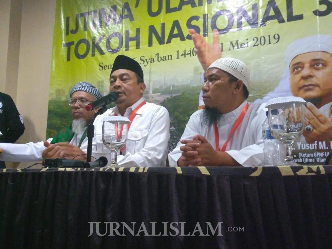 UBN: Ijtima Ulama Untuk Meluruskan Arah Politik Bangsa