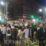 Ribuan Massa Aksi di Bawaslu Mundur, Munarman: Simpan Energi untuk Kembali Esok