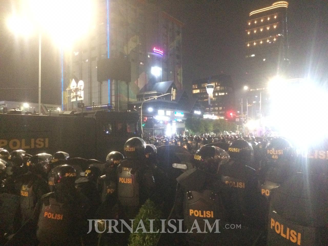 Polisi Minta Massa Aksi di Bawaslu Pulang