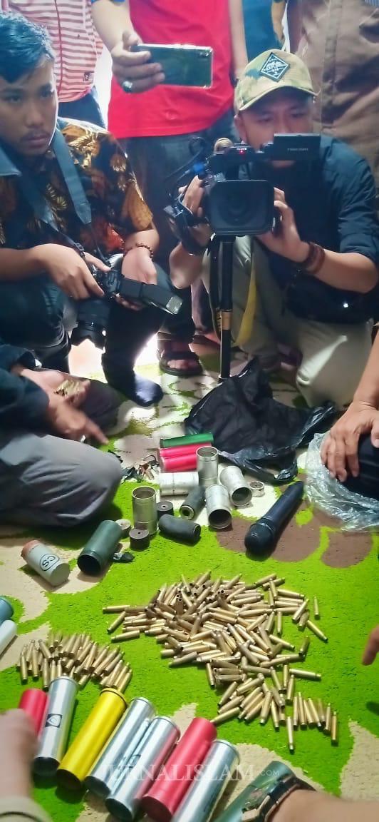 170 Selongsong Peluru Tajam Ditemukan di Petamburan