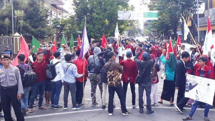 Mahasiswa Jember Kecam Tindakan Represif Aparat saat 22 Mei