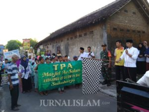 Sambut Ramadhan, Warga Kecamatan Baki Sukoharjo Gelar Jalan Sehat