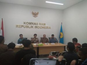 Komnas HAM Minta Tim Pemantau Warga Bentukan Wiranto Dibubarkan