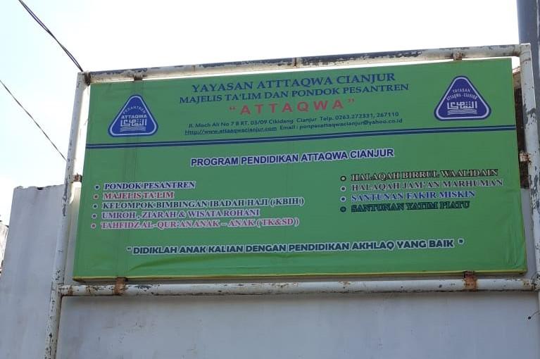 Amplop Milik Ustaz Umar Untuk Insentif Imam Tarawih di Ponpes Attaqwa