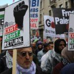 Peringati Hari Nakba, Ribuan Massa di London Unjuk Rasa Bela Palestina