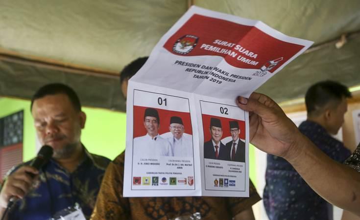 Rekapitulasi Tuntas, KPU Tetapkan Jokowi-Amin Pemenang Pilpres 2019