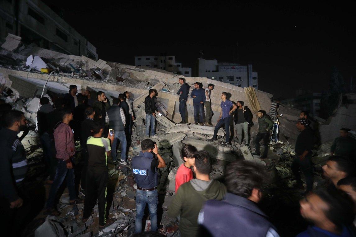 Dunia Mengutuk Serangan Israel ke Kantor Berita Anadolu Agency di Gaza