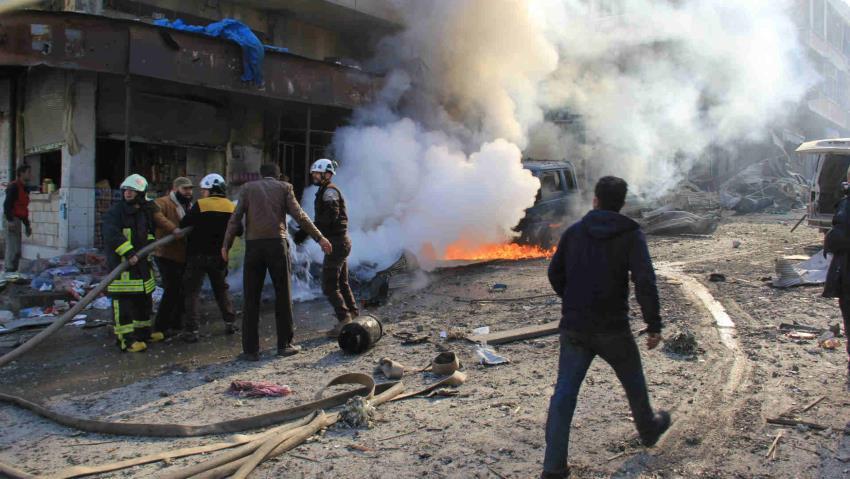 Puluhan Tewas Akibat Serangan Udara 'Brutal' Rusia-Suriah di Idlib
