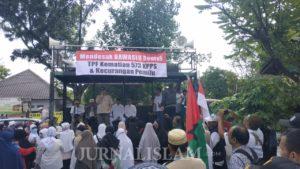 Unjuk Rasa Di Solo Desak Bawaslu Usut Kematian 573 Petugas Pemilu