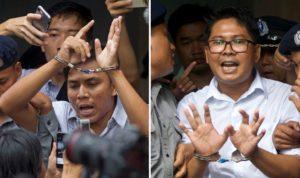 Myanmar Bebaskan Dua Jurnalis Pengungkap Genosida Rohingya