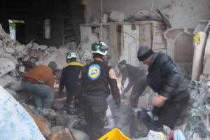 9 Warga Sipil Tewas Akibat Serangan Pasukan Koalisi Suriah di Idlib