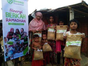 Sinergi Foundation Salurkan Bantuan untuk Palestina, Suriah, dan Rohingya