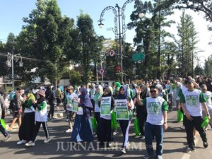 Sinergi Foundation Gelar Green Fun Walk Kampanyekan Kurban Ramah Lingkungan
