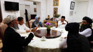 Delegasi Taliban Diterima Menlu Retno dan Wapres JK