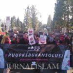 Gerakan Peduli Perempuan Kembali Gelar Aksi Tolak RUU P-KS di CFD Bandung