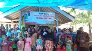 Cerita Baksos dari Banten: 'Tak Hanya Berbentuk Sembako, Bantuan Spiritual Lebih Penting'
