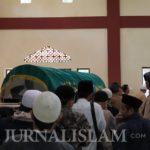 Ustaz Wahyudin Dimakamkan di Kompleks Ponpes Nurussalam Ciamis