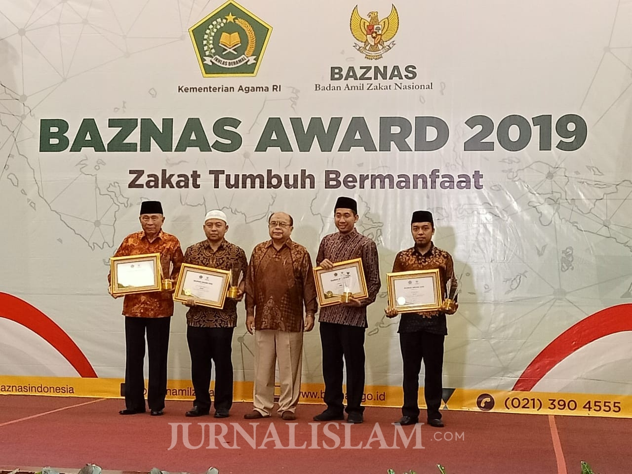 Solopeduli Raih 3 penghargaan dari BAZNAS Award 2019
