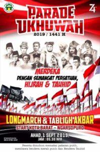 Ribuan Bendera Tauhid dan Merah Putih Siap Berkibar di Parade Ukhuwah Soloraya