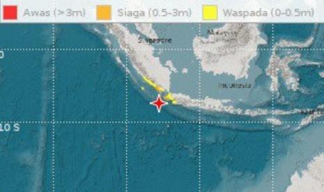 Gempa Magnitudo 7.4 di Banten, Warga Pesisir Mengungsi
