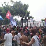 Sempat Dilarang, Aparat Akhirnya Izinkan Massa Kibarkan Bendera OPM di Depan Istana
