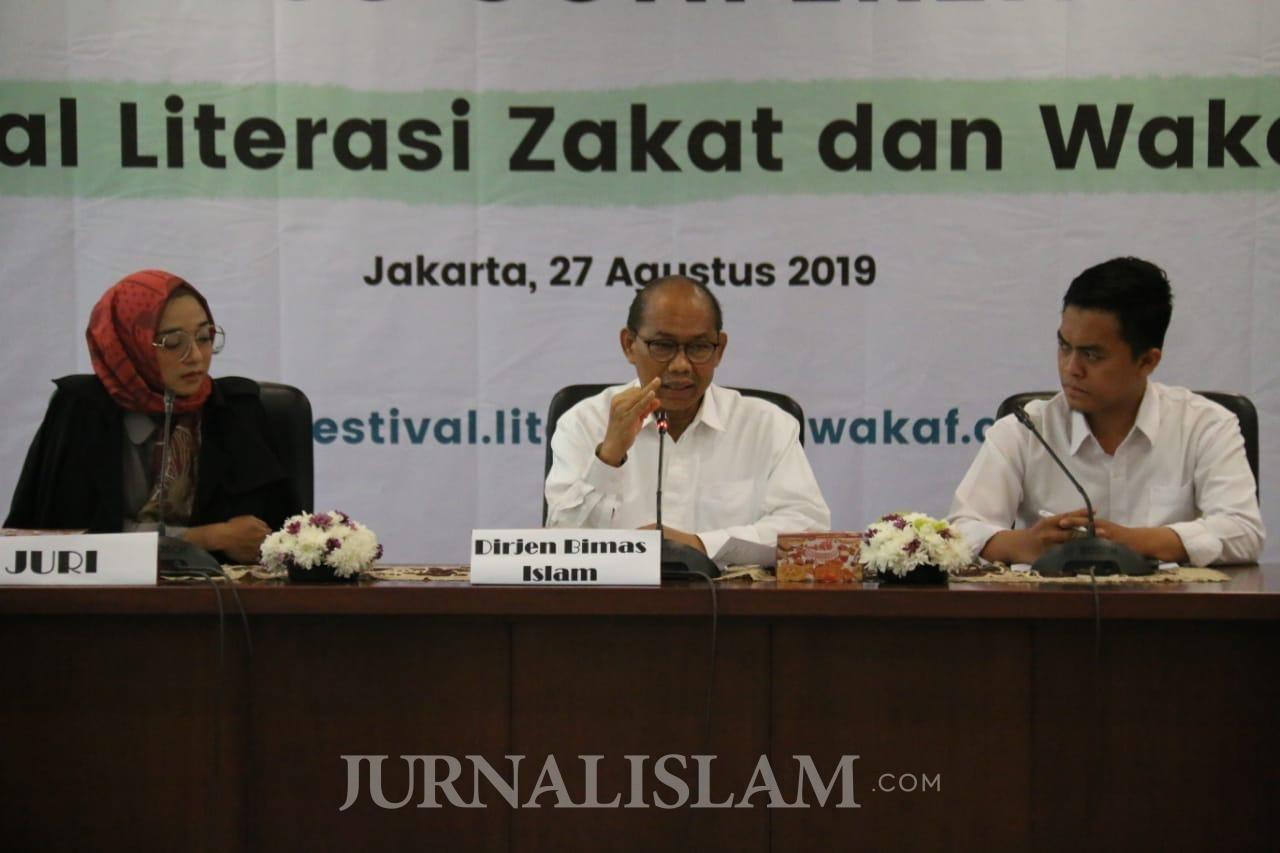 Bimas Islam Gelar Festival Literasi Zakat dan Wakaf Tahun 2019