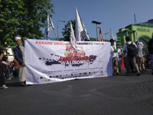 Parade Ukhuwah Walisongo Semarang: Islam Kaffah dan Jauhi Sifat Munafik