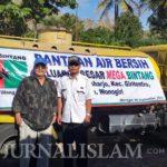 Sulit Dapatkan Air Bersih, Mega Bintang Bantu 10 Tanki di Wonogiri