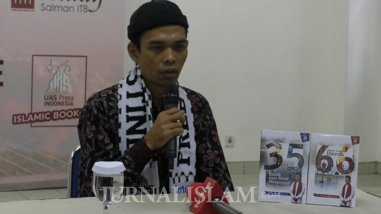 Salman ITB Launching Dua Buku Terbaru Ustaz Abdul Somad