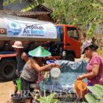 Pasokan Air Warga Habis, BMH Kirim Bantuan Air Bersih di Ponorogo