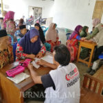 Warga Antusias Hadiri Bakti Sosial di Ponpes Tahfizul Qur'an Al Hijrah Mojokerto
