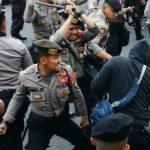 Hampir 100 Orang Ditangkap Polisi Terkait Aksi Mahasiswa