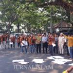 Bawa 9 Tuntutan, Aliansi Mahasiswa Universitas Kanjuruhan Datangi DPRD Kota Malang