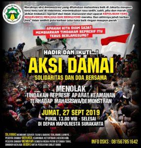 Tolak Tindakan Represif Aparat, DSKS Serukan Masyarakat Aksi Besar Ba'da Jumat