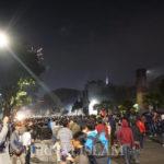 Dihujani Gas Air Mata, Massa Pelajar di Stasiun Palmerah Mundur
