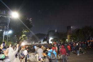 Cerita Mahasiswa Ketika Polisi Tembakkan Gas Air Mata ke Posko Medis dan Evakuasi