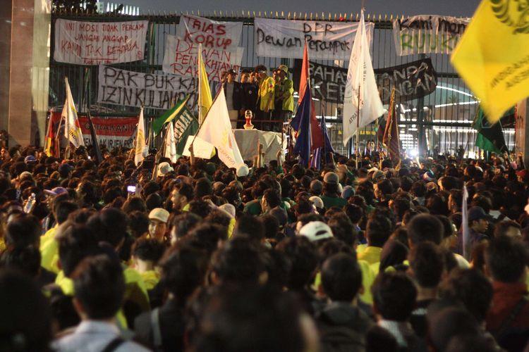 Anggota DPR Baru Dilantik, BEM SI Kembali Gelar Aksi Siang Ini