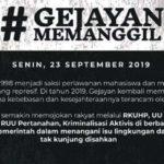 Mahasiswa dan Masyarakat Yogyakarta Turun ke Jalan Senin Ini