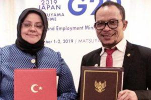 Indonesia – Turki Jalin Kerjasama Bidang Ketenagakerjaan