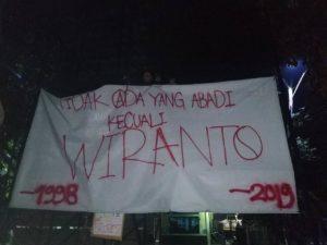 Wiranto Minta Mahasiswa Tidak Demo