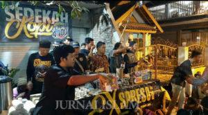 Puluhan Mantan Preman Solo Sajikan 2500 Cup Kopi Taubat di Muslim United