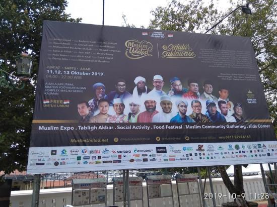Muslim United 2019 Tetap Digelar, Begini Penjelasan Ketua Panitia