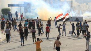 4 Orang Tewas, 700 Terluka Dalam Protes Anti-Pemerintah di Irak