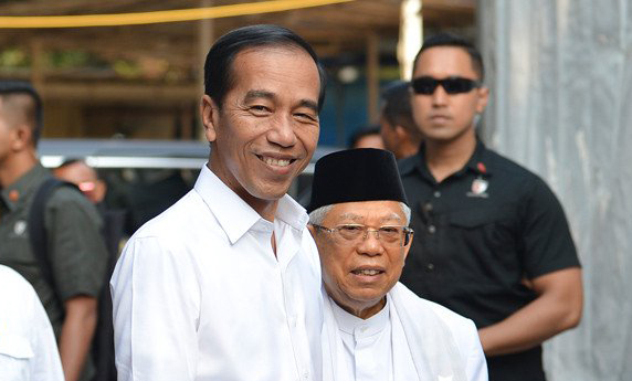 Ustaz Felix Siauw Doakan Jokowi dan Ma'ruf Amin