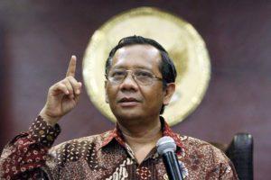 Mahfud MD Gantika Wiranto Jadi Menkopolhukam