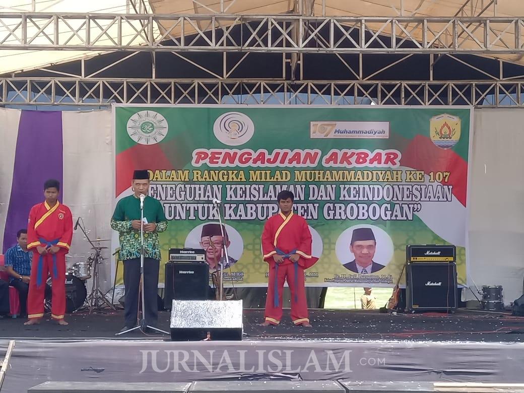Ribuan Warga Grobogan Hadiri Refleksi Milad 107 Tahun Muhammadiyah