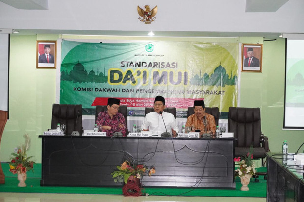 Perkuat Akidah Ahlus Sunnah, MUI Mulai Program Standardisasi Dai