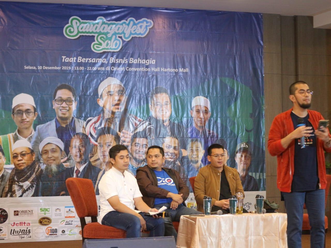 Saudagar Fest Solo Jadi Sarana Pengusaha Muslim Bersatu