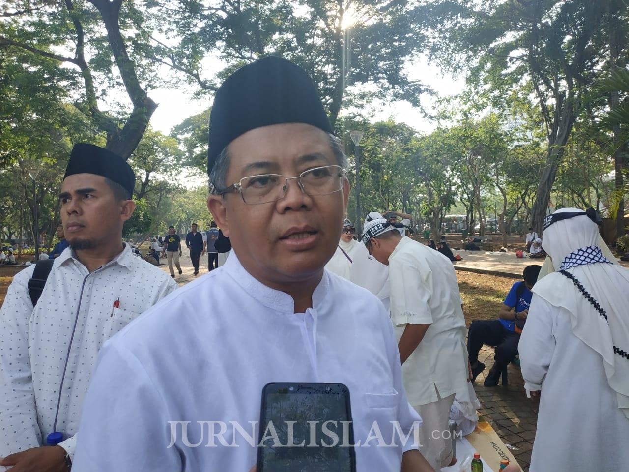 Presiden PKS di Reuni 212: Kami Bagian dari Umat dan Bangsa